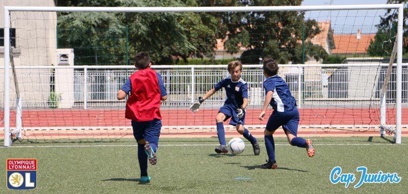 Stage de foot Olympique lyonnais, pour les passionnésdu ballon rond