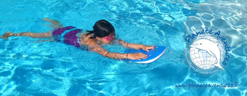 Colonies de vacances piscine et bord de mer